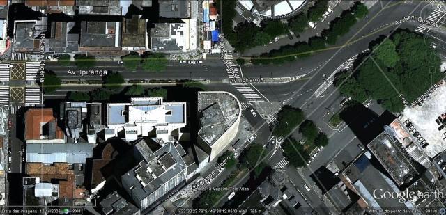 Implantação do Edifício Montreal em São Paulo