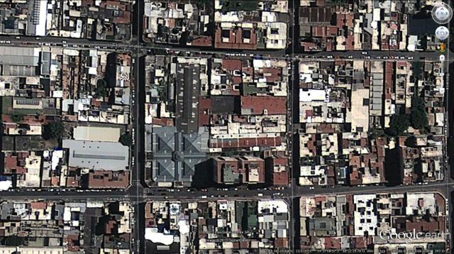 Implantação do Mercado de San Telmo e sua inserção na quadra