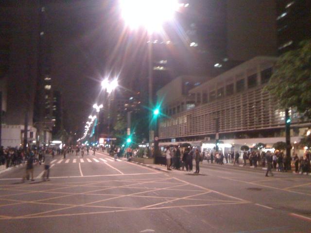 Av Paulista às 20:30