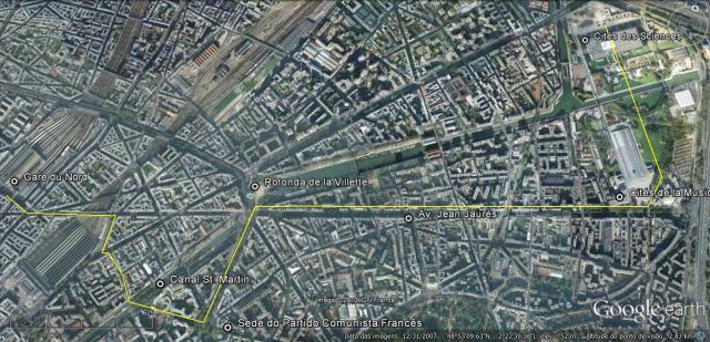 Paris 1o dia