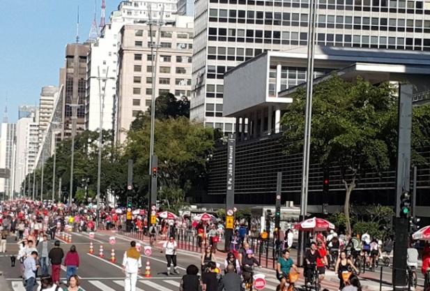 Inauguração da Ciclovia da Av. Paulista