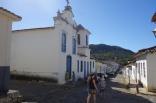 Cidade de Goiás - Rua da Abadia, à esquerda a Igreja de Nossa Senhora da Abadia - 1790