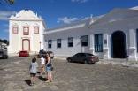 Cidade de Goiás - Palácio dos Arcos, e Igreja de Nossa Senhora da Boa Morte, 1779