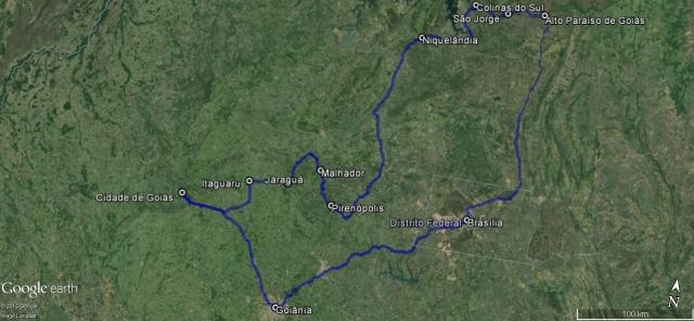 Roteiro de Carro: Brasíla e Goiás