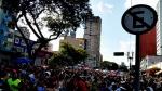 Bloco Tô de Bowie, na Avenida Rio Branco